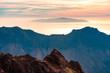 La Palma: Wanderung am Kammweg des Roque de Los Muchachos  mit romntischem Blick aufs Meer und El Hierro