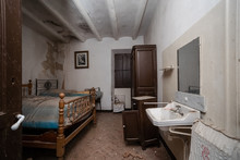 Interior Of A Room Of An Aband...