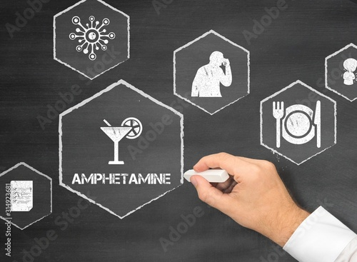 Amphetamine Canvas Print