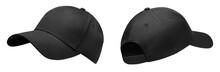 Black Baseball Cap In Angles V...