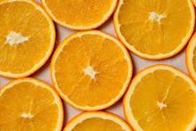 Ripe And Juicy Orange Slices. ...