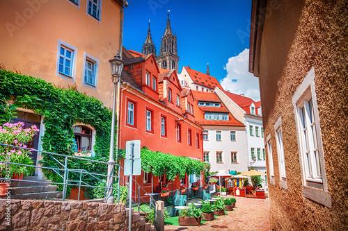 Vászonkép Street of Meissen