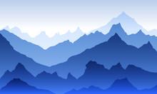 Blue Pattern Texture Eps 10 Il...