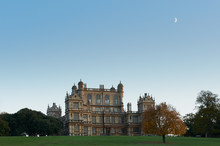 Wollaton Hall At Dusk