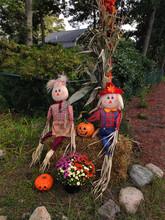 Halloween Decorations On A Str...