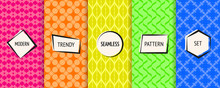 Geometric Seamless Patterns Co...