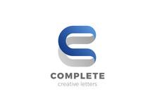 Letter C Logo Design Vector Te...