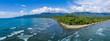 canvas print picture - Beautiful Uvita Beach, Costa Rica, Puntarenas.