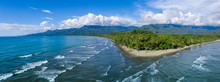 Beautiful Uvita Beach, Costa Rica, Puntarenas.