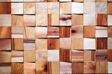 Bright Brown Hardwood Wooden S...
