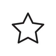 Star Icon Design Eps 10