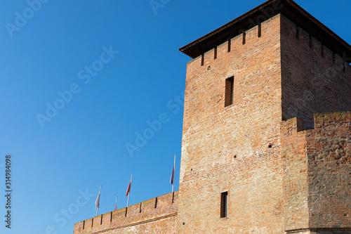The beautiful Gyula Fortress Canvas Print