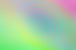 canvas print picture - An abstract colorful iridescent blurry background image.