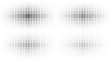 Set Of Halftone Gradient Textu...