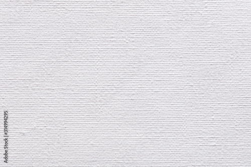 Canvas natural background in classic white color as part of your superlative design Wallpaper Mural