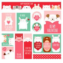 Valentine's Day Set For Scrapb...