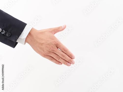 Photo ビジネスイメージ・握手する男性