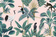 Tropical Vintage Botanical Wi...
