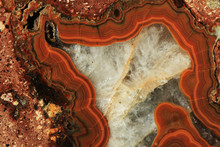 Agate Mineral Texture