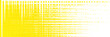 Leinwanddruck Bild - Yellow background with a graphic pattern of lines and stripes, texture of white squares and rectangles. Modern abstract design in bright colors, a template for a screensaver.