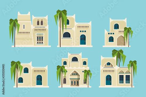 Fotografia Ancient arabic houses