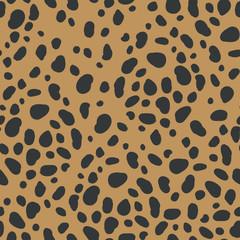 Animal print abstract seamless pattern