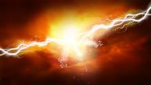 Thunderstorm. Light Effects. H...