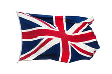 British UK Flag Union Jack Isolated