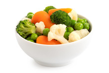 Mixed Vegetables In Bowl.