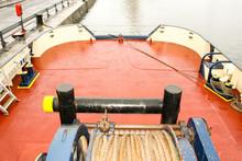 Docked Tug Boat