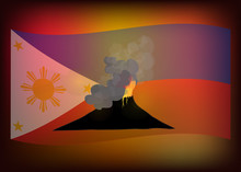 Taal Volcano Eruption, Pray Fo...