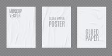 Wrinkled Paper Vector Realisti...