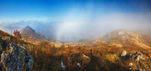 Fog Over The Canyon. Dnister R...