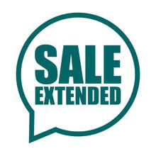 Green Vector Banner Sale Exten...