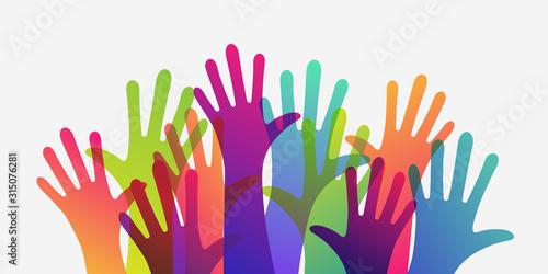 rece-w-roznych-kolorach-roznorodnosc-kulturowa-i-etniczna-ilustracji-wektorowych