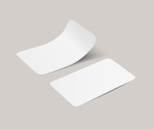 Vector White Realistic Paper A...