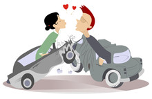 Road Accident And Love Couple ...