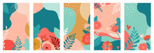 Vector Set Of Valentines Day A...