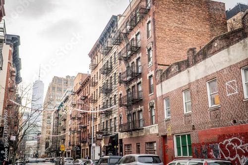 Vielle ville américaine Slika na platnu