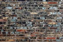 Grunge Brick Wall With Bricks ...