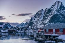 Tranquil Fishing Village Below...