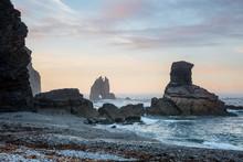 Rock Formations In Ocean Porti...