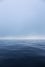 Serene Ethereal Blue Ocean Sea...