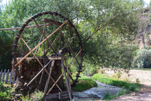 Working Watermill Wheel In Jan...