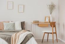 Female Elegant Bedroom Interio...