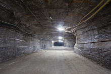 Salt Potash Mine Ore Shaft Tun...