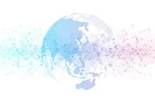 Global Social Network. Network...