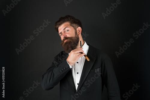 Fényképezés Good beard needs good barber