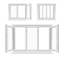 Windows With Opened Casements,...