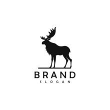 Moose Logo Template Vector Ill...